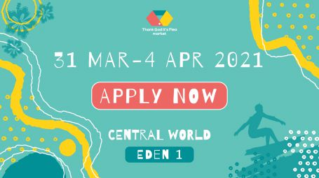 REGISTER 31 MAR - 4 APR @ EDEN1 centralwOrld